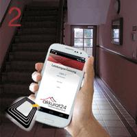 Service Tracking per Smartphone